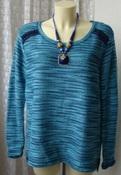 Свитер женский джемпер нарядный акрил вискоза бренд Gina Benotti р.50-52 5561