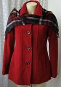 Пальто женское демисезонное элегантное шерсть бренд Croft&Barrow р.50 5503