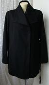 Пальто женское демисезонное элегантное шерсть большой размер бренд Apt.9 р.54 5509