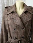 Пальто женское модное стильное легкое хлопок бренд Eds by esprit р.46-48 5018