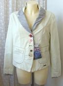 Жакет женский модный демисезонный куртка бренд Desigual р.52 5074