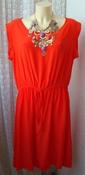 Платье женское легкое летнее яркое вискоза бренд F&F р.52 5081