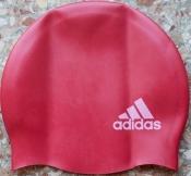 Шапочка для плавания детская Adidas силиконовая красная E44341