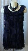 Туника женская легкая летняя нарядная бренд Mela р.44 5617