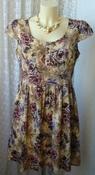 Платье женское легкое летнее хлопок мини бренд Peacocks р.46  5624