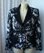 Пиджак женский элегантный нарядный вискоза бренд Gold р.50  5634