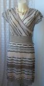 Платье женское модное демисезонное акрил мини бренд M&Co р.48 5658