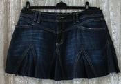 Юбка женская джинсовая джинс бренд Oasis jeans р.46-48 5678