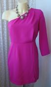 Платье женское элегатное нарядное мини бренд Topshop р.44 5701