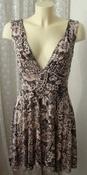 Платье женское летнее легкое сарафан вискоза стрейч мини р.44-46 5119