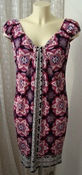 Платье летнее яркое стрейч бренд London Times р.42-44 5124