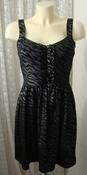 Платье летнее черное нарядное стрейч бренд Be Bop р.44-46 5129