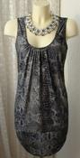Платье женское блестящее клубное модное стрейч мини бренд Redherring р.48 5130