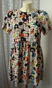 Платье женское летнее легкое яркое модное мини бренд Topshop р.44 5135