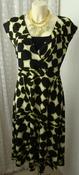 Платье женское элегантное летнее вискоза миди стрейч бренд W BHS р.50 5140