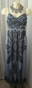 Платье женское легкое летнее сарафан стрейч бренд  р.42 5144