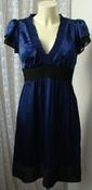 Платье женское легкое летнее шелковое мини р.44 5148