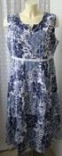 Платье женское шикарное легкое летнее хлопок миди бренд Chicc р.52 5193