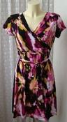 Платье женское летнее стрейч мини бренд Next р.46 5205