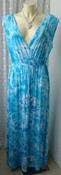 Платье женское легкое летнее вискоза стрейч бренд Marble р.50 5208