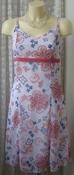 Платье женское модное легкое летнее сарафан мини бренд Blue Motion р.42 5704