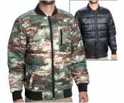 XL Burton Parker демисезонная двухсторонняя мужская куртка бомбер утепленная