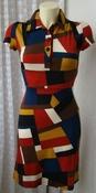 Платье женское летнее легкое яркое модное мини бренд Lemon Smashed р.40 5712