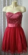 Платье женское нарядное вечернее выпускное мини бренд Laona р.42 5732