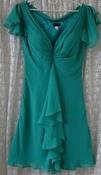 Платье женское легкое нарядное коктейльное мини бренд Laona р.44 5735