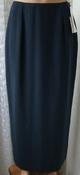Юбка женская легкая демисезонная удлиненная элегантная бренд Libra р.44 5743