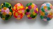 Пасхальные яйца в технике квиллинг