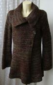 Кофта женская теплая вязаная альпака бренд Marks&Spencer р.48 5804