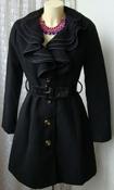 Пальто женское демисезонное вискоза бренд My - se р.44 5813