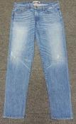 Женские джинсы J Brand,  цвет - синий.