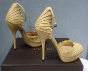 Красивые туфли Gucci Nappa Charlotte ( оригинал ), новые.