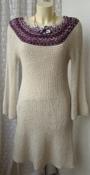 Платье женское вязаное зимнее теплое бренд Clime high dig deep shi steep р.46 5861