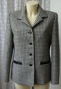 Пиджак женский модный теплый зимний шерсть бренд Gold by Michael H р.46 5869