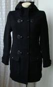 Пальто женское модное стильное с капюшоном демисезонное бренд Even&Odd р.42-44 5872