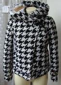 Пальто короткое женское с капюшоном теплое демисезонное бренд Khujo р.44 5875