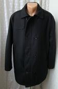 Пальто мужское модное стильное утепленное демисезонное бренд Reset р.54-56 5878