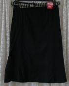 Юбка женская черная демисезонная акрил бренд Roman р.52 5894