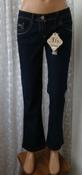 Джинсы женские модные бренд Bootcut р.44 5936