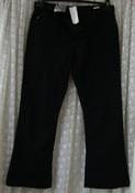 Джинсы женские черные демисезонные бренд New Look р.50 5972