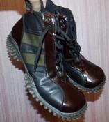 Демисезонные итальянские кожаные женские ботинки FunCo - 39 размер