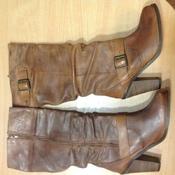 Новые кожаные деми сапоги англ. бренда New Look 37-37, 5