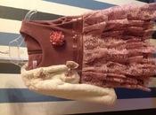 Шикарное нарядное платье c меховым болеро на возраст 4-5 лет