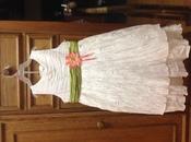 Нарядное пышное белое платье Cherokee на рост до 122 см