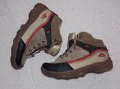 Демисезонные бежевые ботинки FUSION унисекс - 33 размер, 20,5 см стелька