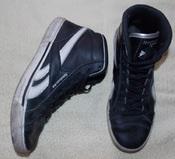 Кроссовки REEBOK черно-белые, оригинальные-26 см стелька. Вьетнам.