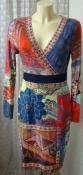 Платье женское летнее вискоза стрейч бренд Class FX р.44 5256